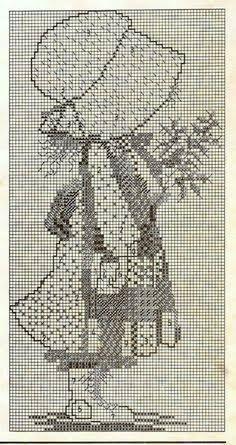 Resultado de imagem para holly hobbie cross stitch pattern free
