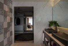Banheiros com revestimentos instalados de formas diferentes – veja duas opções que estou amando! - Decor Salteado - Blog de Decoração e Arquitetura