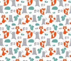 Fabric – Spoonflower  #spiceberrycottage