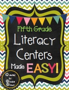 Are you ready to begin using EFFECTIVE, ENGAGING centers that are EASY for you and your fifth graders to manage?  This zip file contains EVERYTHING you need to effectively manage fifth grade centers while keeping students engaged and on task! 40 pages Common Core aligned materials for you to print and use right away.