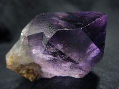 Amethyst crystal / Russia ❦ CRYSTALS ❦ semi precious stones ❦ Kristall ❦ Minerals ❦ Cristales ❦