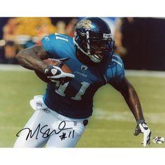 "Mike Sims-Walker Jacksonville Jaguars Fanatics Authentic Autographed 8"" x 10"" Running Ball Horizontal Photograph"