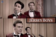 The Four Seasons in the Jersey Boys movie!
