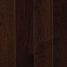 allen + roth 3.25-in W x 84-in L Prefinished Hickory 3/4-in Solid Hardwood Flooring (Leather)