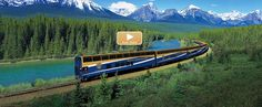 One of the trips you must experience before you die!  Train trip from Vancouver through the Rockies to Banff.  One of our better trips!