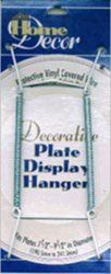 White - Decorative Plate Display Hanger Expandable To