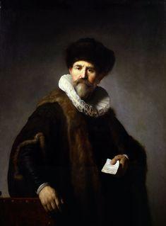 Портрет Николаса Рутса (1631) (116.84 × 87.31). Rembrandt Harmensz van Rijn (1606-1669)