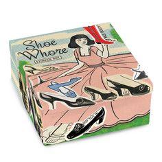 BlueQ Shoe Whore Petite Tin Cigar Box