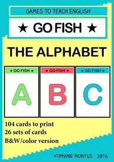 1000 images about bonjour fle on pinterest fle bingo for Go fish instructions