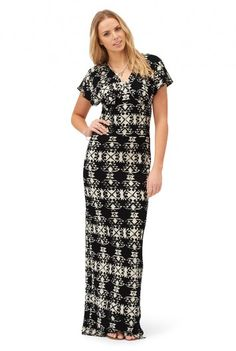 Ruby Rocks Batik Maxi Dress