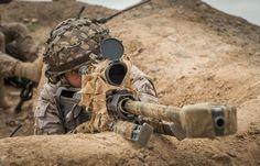 Sniper español. Afganistán. Barrett