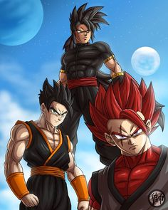 I'm happy to show you the final result of the collab between me (pencils), (lineart) and (colors) I literally… Black Anime Characters, Dbz Characters, Dragon Ball Z, Fairy Tail Art, Black Artwork, Anime Art, I'm Happy, Bodybuilder, Sasuke