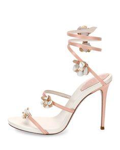 f351860622 Rene Caovilla - Floral Snake 105mm Sandal. Shoebunny · Rene Caovilla Shoes