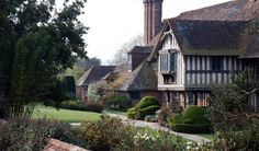 Great Dixter, in Northiam, Surrey, England, was the family home of gardener and gardening writer Christopher Lloyd