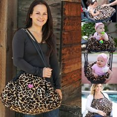 Multiple use diaper bag