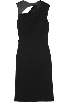 12 Days of Holiday Dresses - Kaufmanfranco Asymmetric Wool-Blend Dress