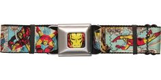 Iron Man Comic Panels Seatbelt Belt #blackfriday #blackfridaysale