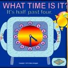 Interactive Time activity to revise English time.  What's the time? It's ......
