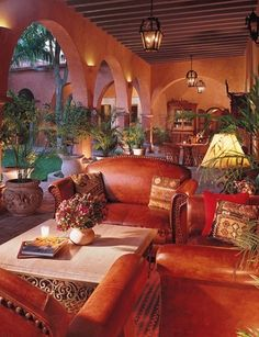 Hacienda Style Courtyard (Casa de Flores on Vista Parkway).  Capture the spirit of Mexico at http://lafuente.com