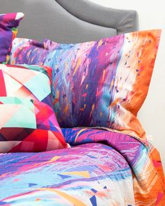 Kess InHouse has matching pillowcases and shams for your Kess Art duvet covers! Check them out at kessinhouse.com
