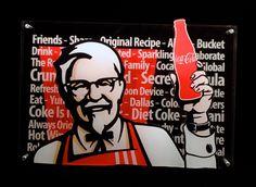 _DSC6423 Yum Brands, Laser Cut Acrylic, Diet Coke, Laser Cutting