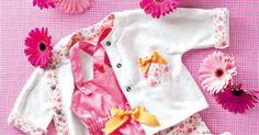 Ensemble salopette et veste pour bébé