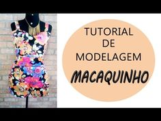 Tutorial de Modelagem de Macaquinho Verão + Recado Importante no Final - YouTube