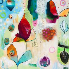 Silver Spring by Flora Bowley Painting Print on Wrapped Canvas