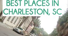 Y'all are probably sick of me talking about how amazing Charleston is. Sorry, not sorry. It is seriously the most perfect city. It...