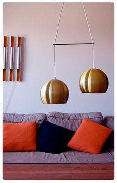 Amazing vintage Danish lights from Old & Cold on etsy
