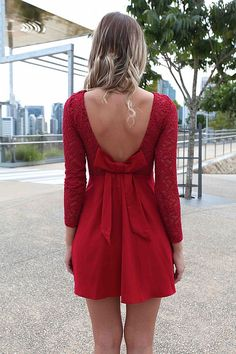 THE LUCKY ONE DRESS -- christmas dress??