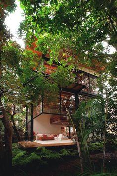 """livingpursuit: """"Chipicas Town Houses by Alejandra Sánchez Garcia """""""