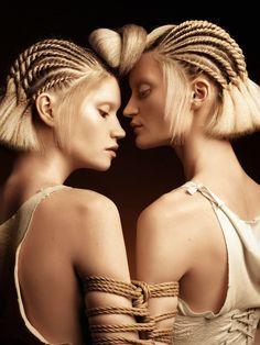 hair by Pavel Okhapkin for Russian hairdressing awards 2016, style - Pasha Pavlov, photo - Karen Kananian and Pasha Pavlov, postproduction - Karen Kananian