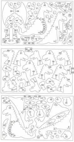 схема сборки дракона