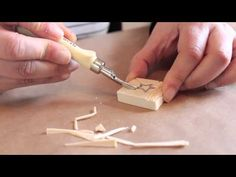 DIY: Aprender a carvar sellos