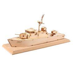 Wooden Model Kits Korea Warship Series-patrol killer (PK) high-speed boat