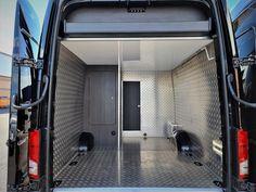 VW Crafter Sporthome - 4 Motion - Elevating Roof - Mclaren Sports Homes Ltd | Luxury Sporthome & Motorhome Conversions Van Conversion Furniture, Bike Storage In Van, Vw Camper Conversions, Black Rhino Wheels, Mercedes Sprinter Camper, Vw Crafter, Camper Interior, Heating Systems, Van Life
