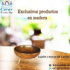 Los #bowl, más que #platos hondos, son el aliado ideal para #decorar tu #mesa o para #servir #dulces o #panecillos para tus #visitas.  Que tal este bowl en #madera de 3 patas en #cobre?  Pidelo aquí: https://goo.gl/d6q2rt Más info por inbox o whatsapp📲3156711224 ✈️ Envios #Gratis a todo el país 🇨🇴 #Colombia  #decoracion #fengShui #hogar #casa #decora #MyStyle #India #IndianStyle #MaderaTallada #artesanal #elegante #exclusivo #unico