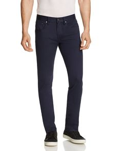 Vince Stretch Cotton Five Pocket Slim Fit Pants - 100% Bloomingdale's Exclusive