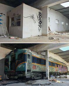 Amazing Street Art, 3d Street Art, Street Art Graffiti, Mural Painting, Mural Art, Wall Murals, Wall Art, 3d Wall, Graffiti Alphabet