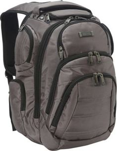 Kenneth Cole Reaction Pack of All Trades Laptop Backpack Charcoal - via eBags.com!