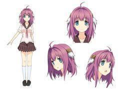 Ao-no-Kanata-no-Four-Rhythm-Anime-Character-Designs-Rika-Ichinose