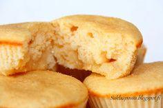Muffinit Lemon Curd sydämellä - Suklaapossu