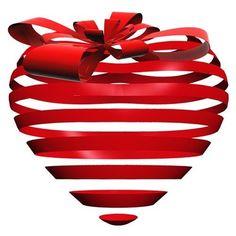 A bow heart!