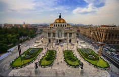 Palacio de Bellas Artes. Fine Arts Palace. One of the places I like the most in Mexico City =D
