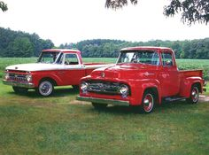Ford Pick-up Truck Red | #MadeInAmerica
