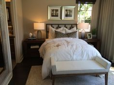 A #blissful #bedroom at Capella with plenty of natural light.