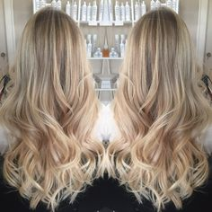 Unite Haircare U Oil Expanda Volume Lived in hair and lived in haircolor bronde blonde rooted bright Balayage specialist and colorist WNY Buffalo NY Buffalove hair salon hair painting babylights baby
