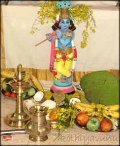 Vishu Sadya recipes all in one place,will be helpful for those who are newbies and for those who are looking for new exciting vishu sadya recipes. Sri Krishna Photos, Radha Krishna Images, Lord Krishna Images, Krishna Pictures, Vishu Images, Vishu Festival, New Year Wishes Images, Best Christmas Wishes, Dancing Ganesha