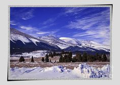 A Wintry Colorado Image lays before the Collegiate Peaks off Rout 285 heading from montrose to Denver, Colorado. The Collegiate Peaks is a name given to a section of the Sawatch Range of the Rocky Mountains located in central Colorado. Drainages to the east include headwaters of the Arkansas River.
